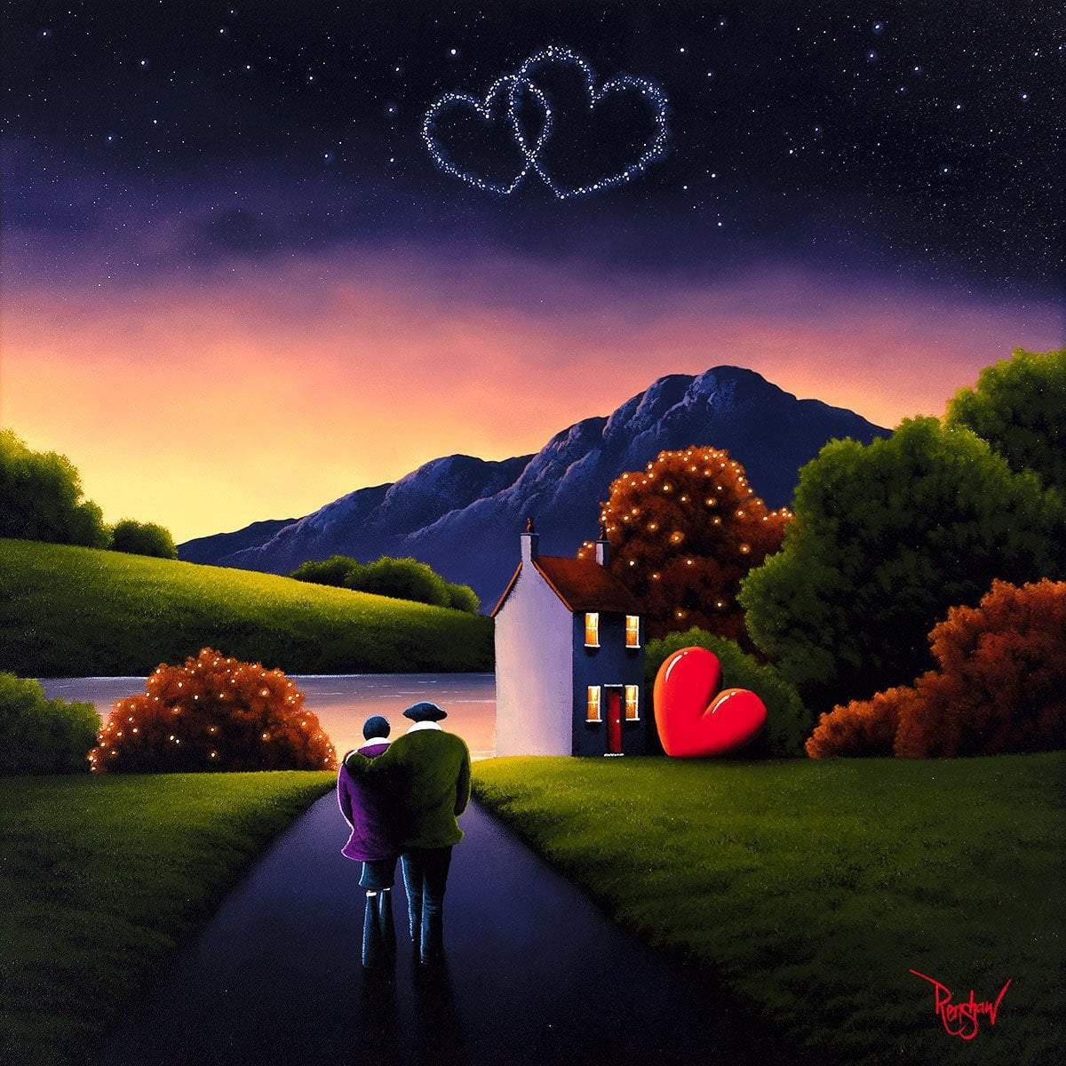 A Love Like Ours - Original David Renshaw Framed