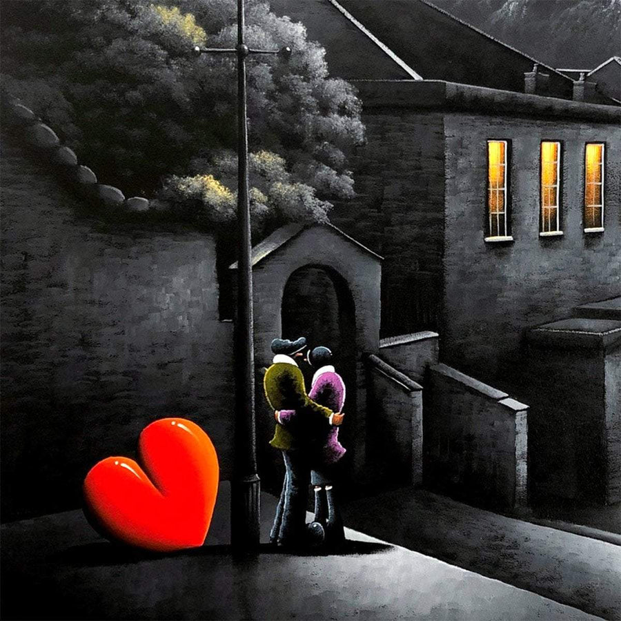 A Moment To Treasure - Original David Renshaw Framed