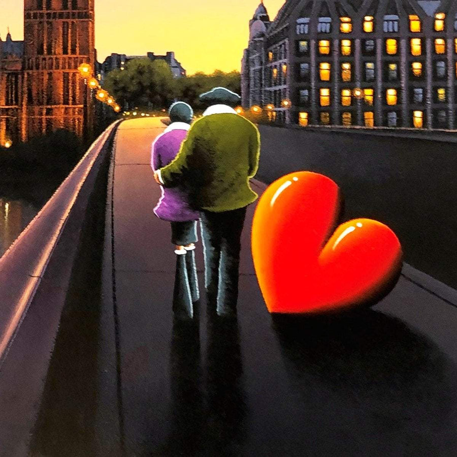A New Adventure Begins - Original - SOLD David Renshaw Framed