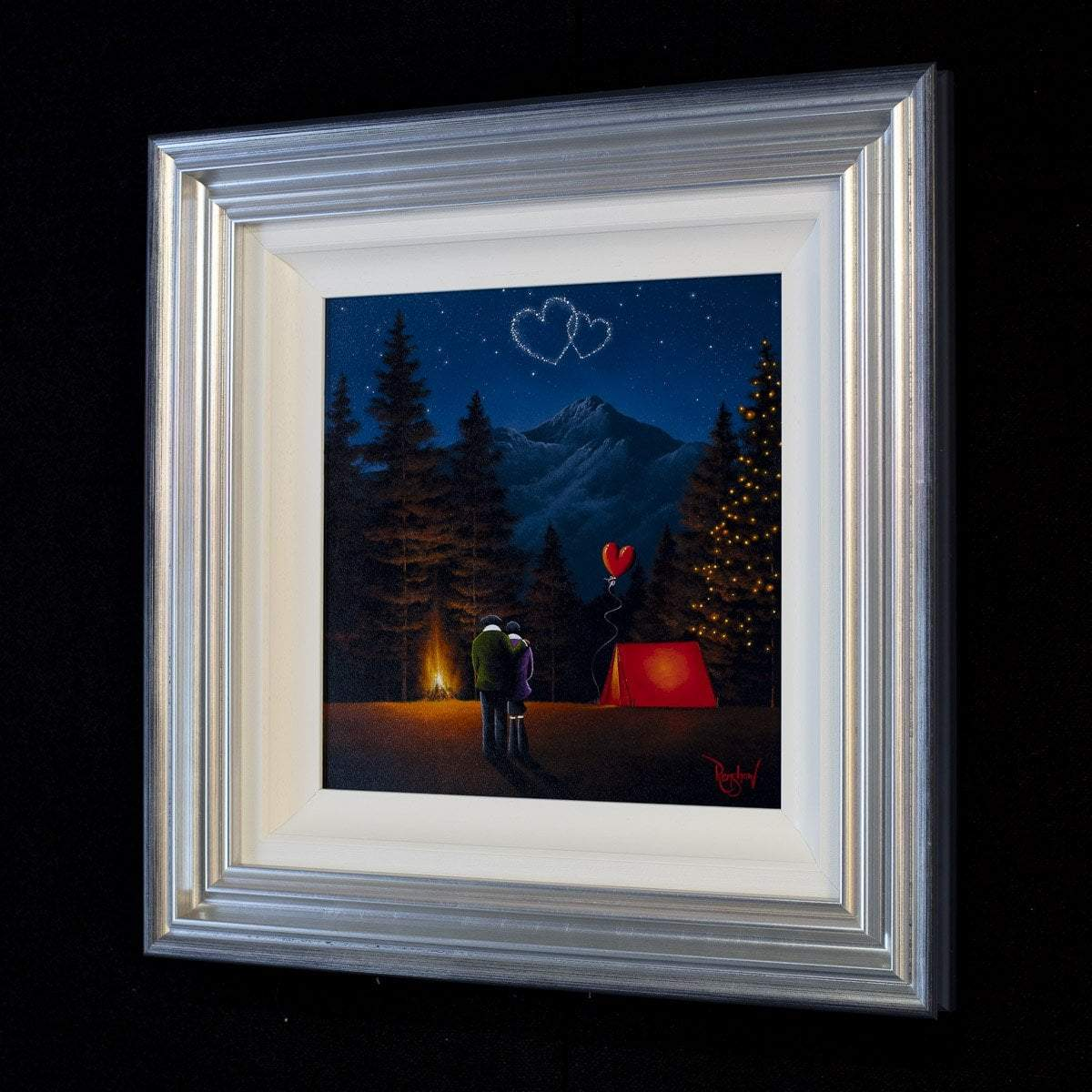 A Night Like This - Original - SOLD David Renshaw Framed
