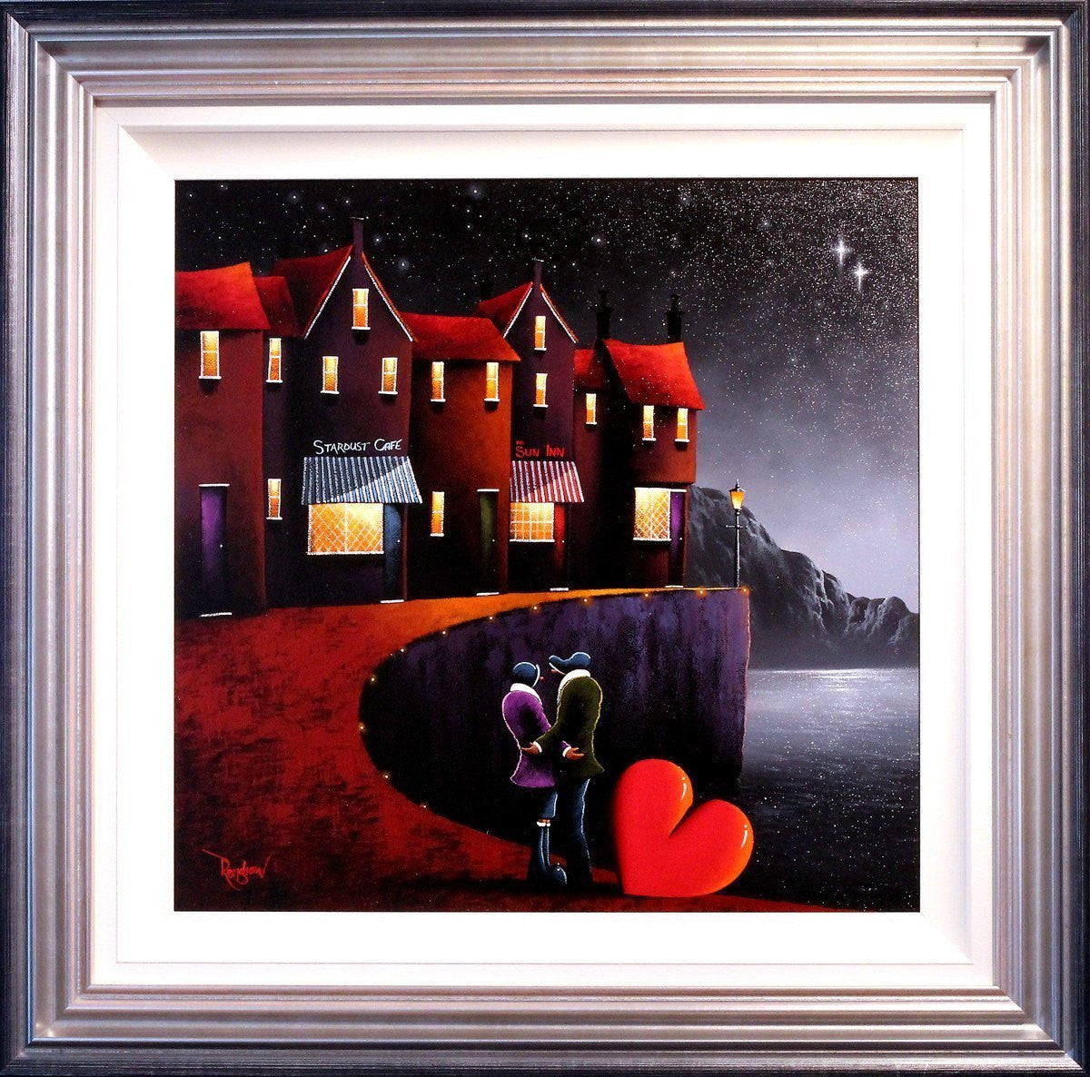 A Night Out on the Town - Original - SOLD - Wyecliffe ...