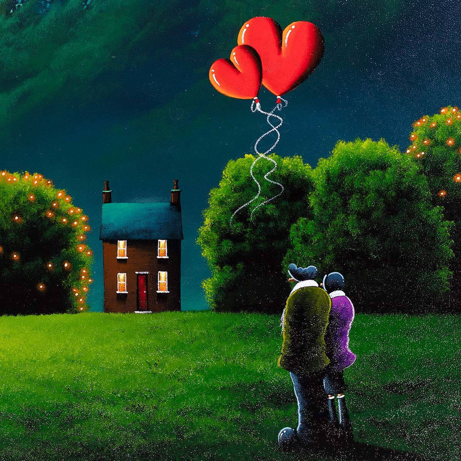 A Place Of Our Own - Original David Renshaw Framed
