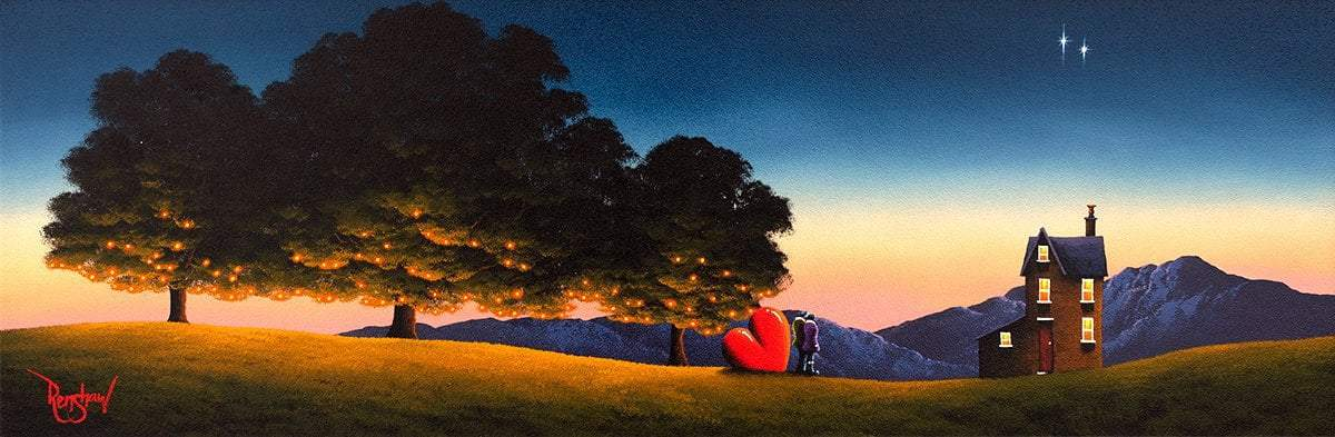 A Star for Each of Us - Original David Renshaw Framed