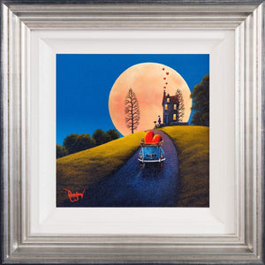A Super Moon - Orignal David Renshaw