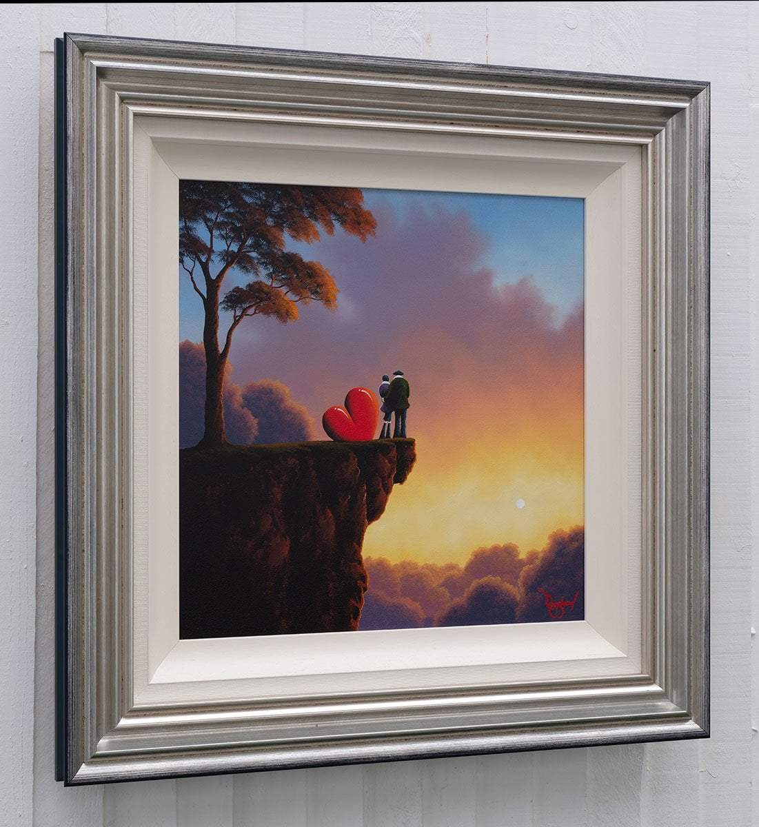 Above The Clouds - Original David Renshaw Framed