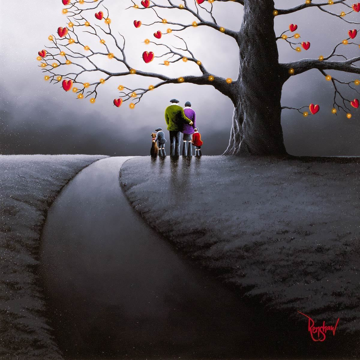 After The Rain - Original David Renshaw Framed