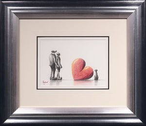 All I Need - Original Pencil Sketch David Renshaw