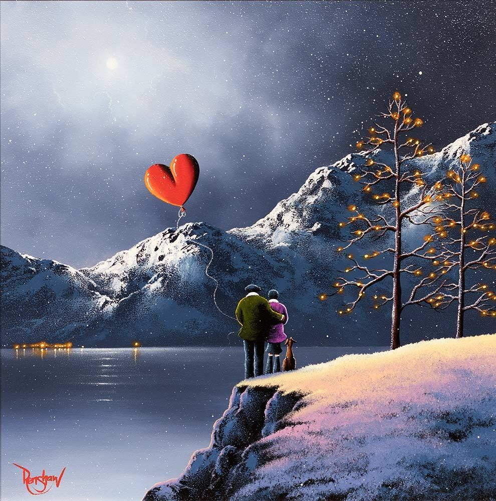 Alpine Antics - Original David Renshaw