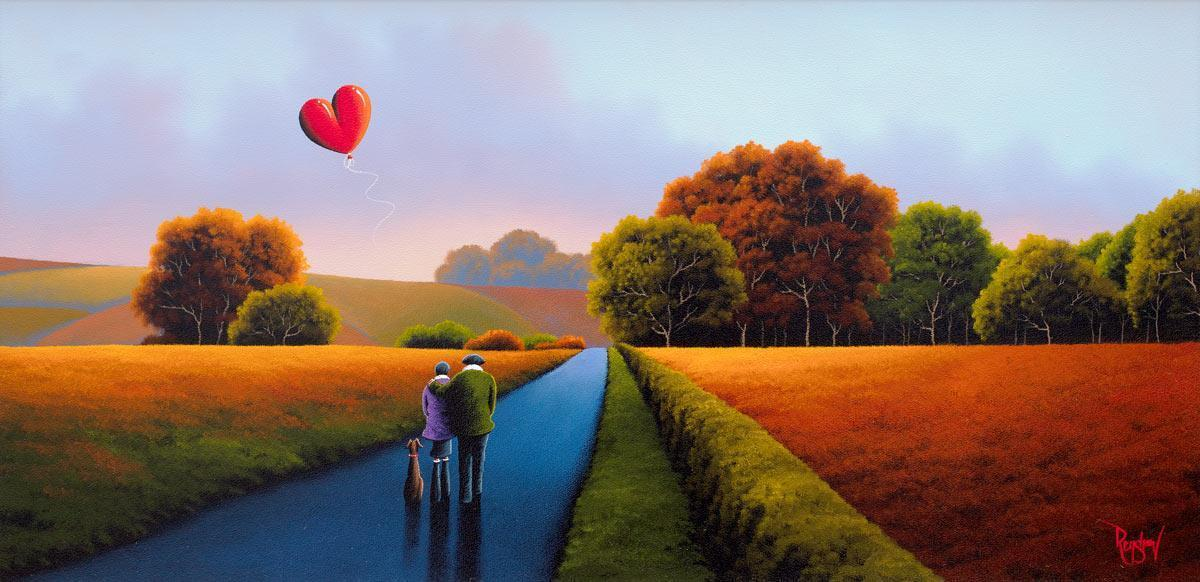 Amber Fields - Original David Renshaw