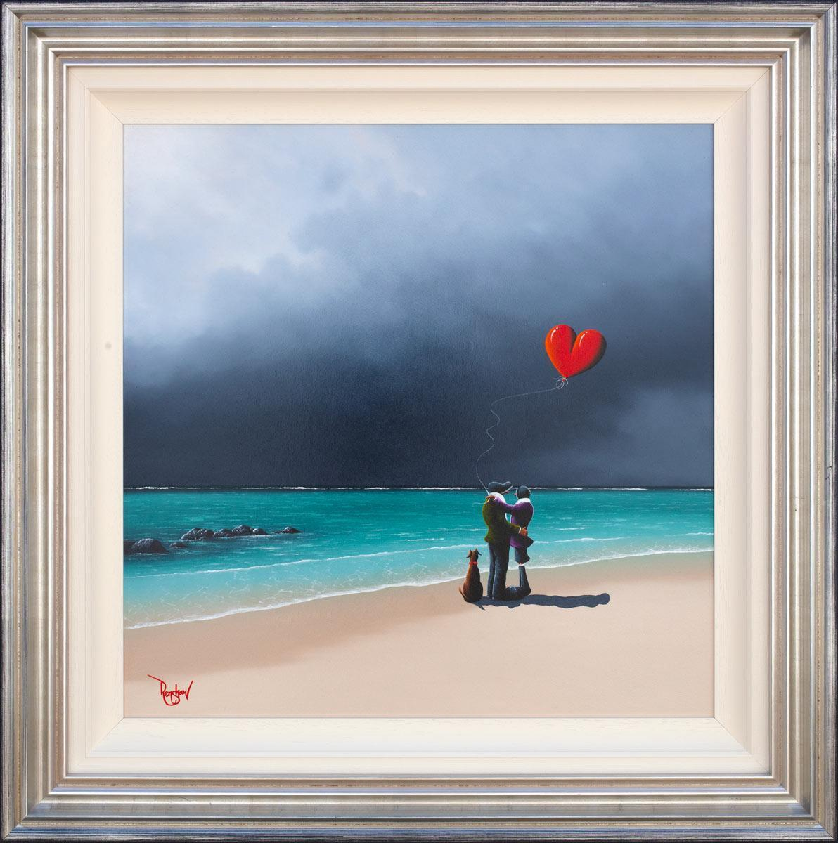 Another Time, Another Place - Original David Renshaw Framed