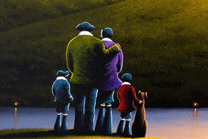 Approaching Dusk - Original David Renshaw Framed