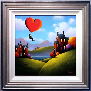 Arriving in Style - SOLD David Renshaw