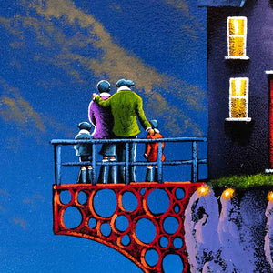 Balcony of love David Renshaw Framed