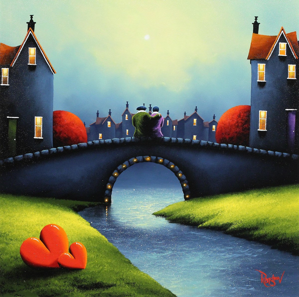 Bridge of Love - SOLD David Renshaw