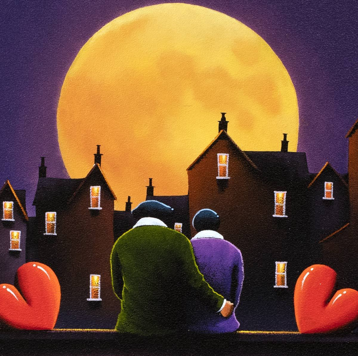 By the Moonlight David Renshaw Framed