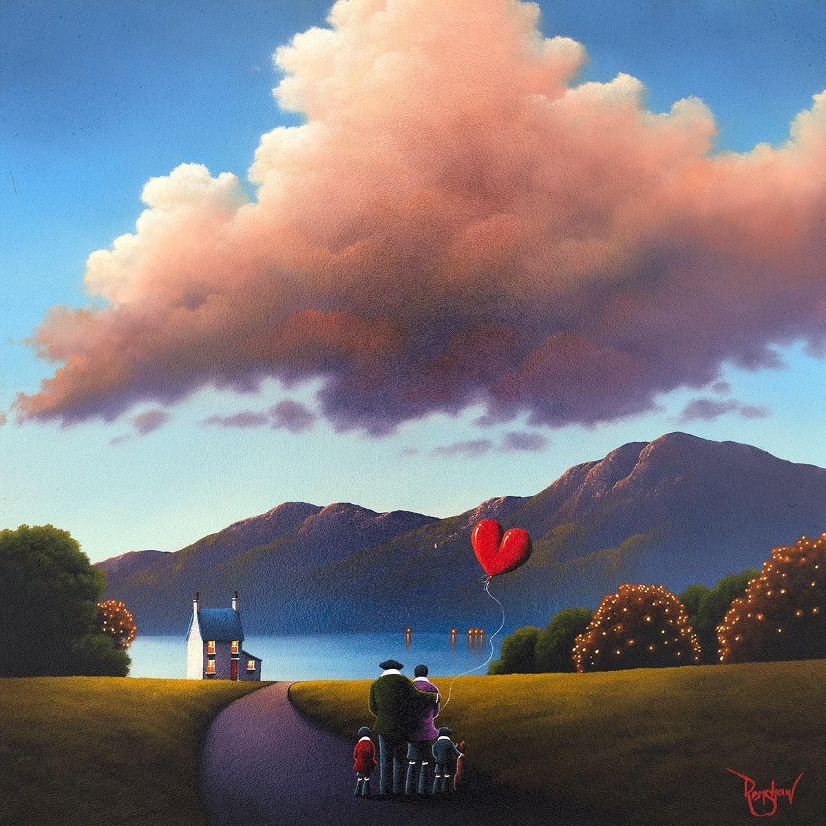 Cherished Moments David Renshaw Framed