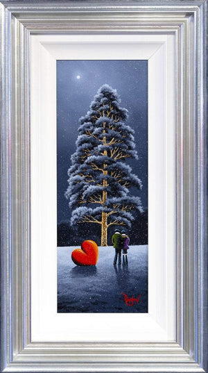Christmas Love - Original David Renshaw Framed