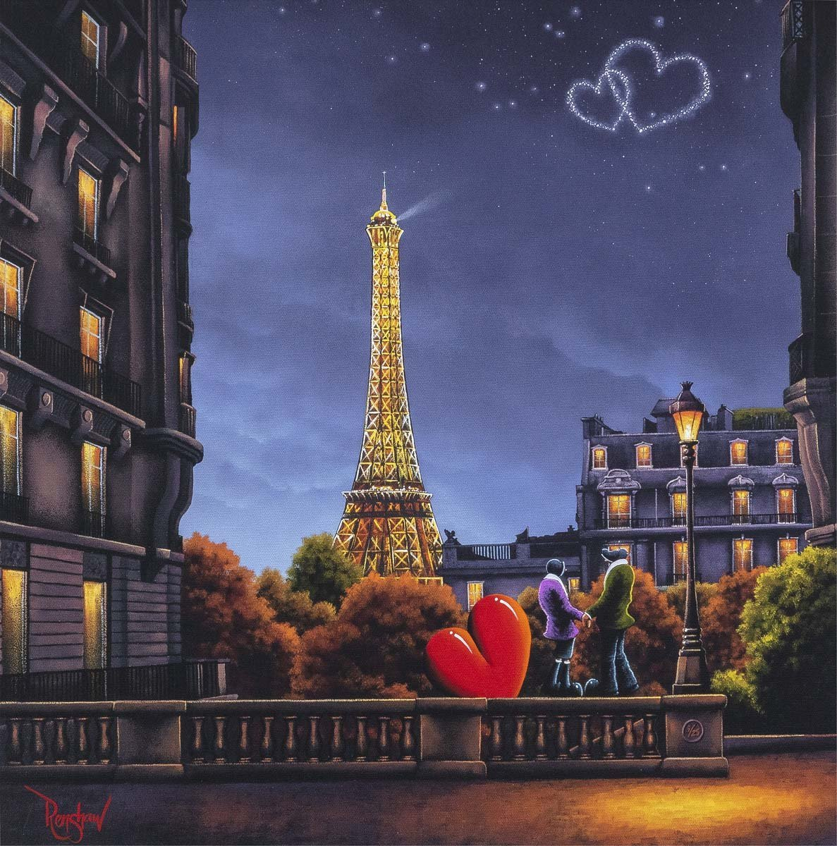 City of Love, City of Light - Edition David Renshaw Edition 9