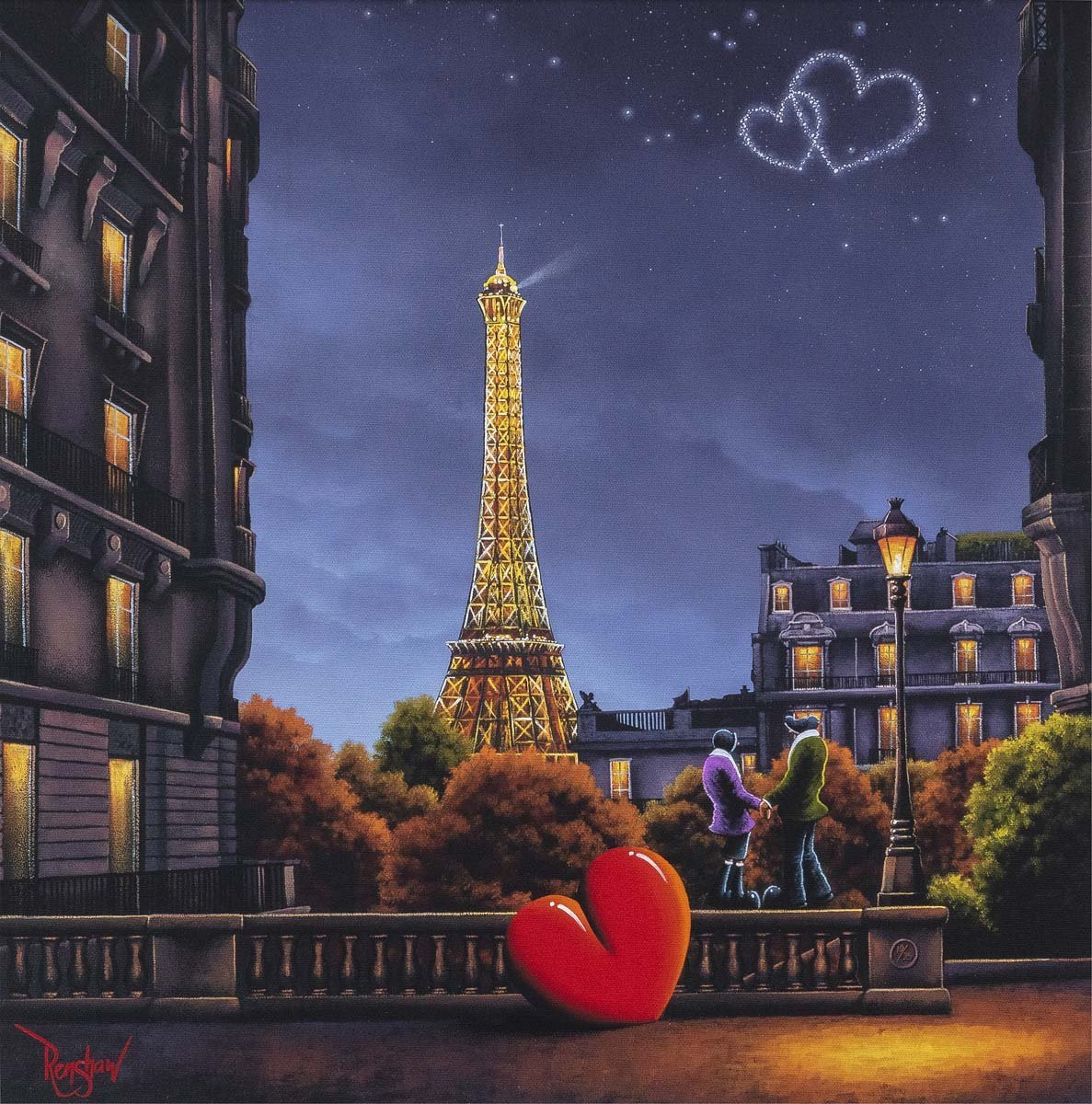 City of Love, City of Light - Edition David Renshaw Edition 10