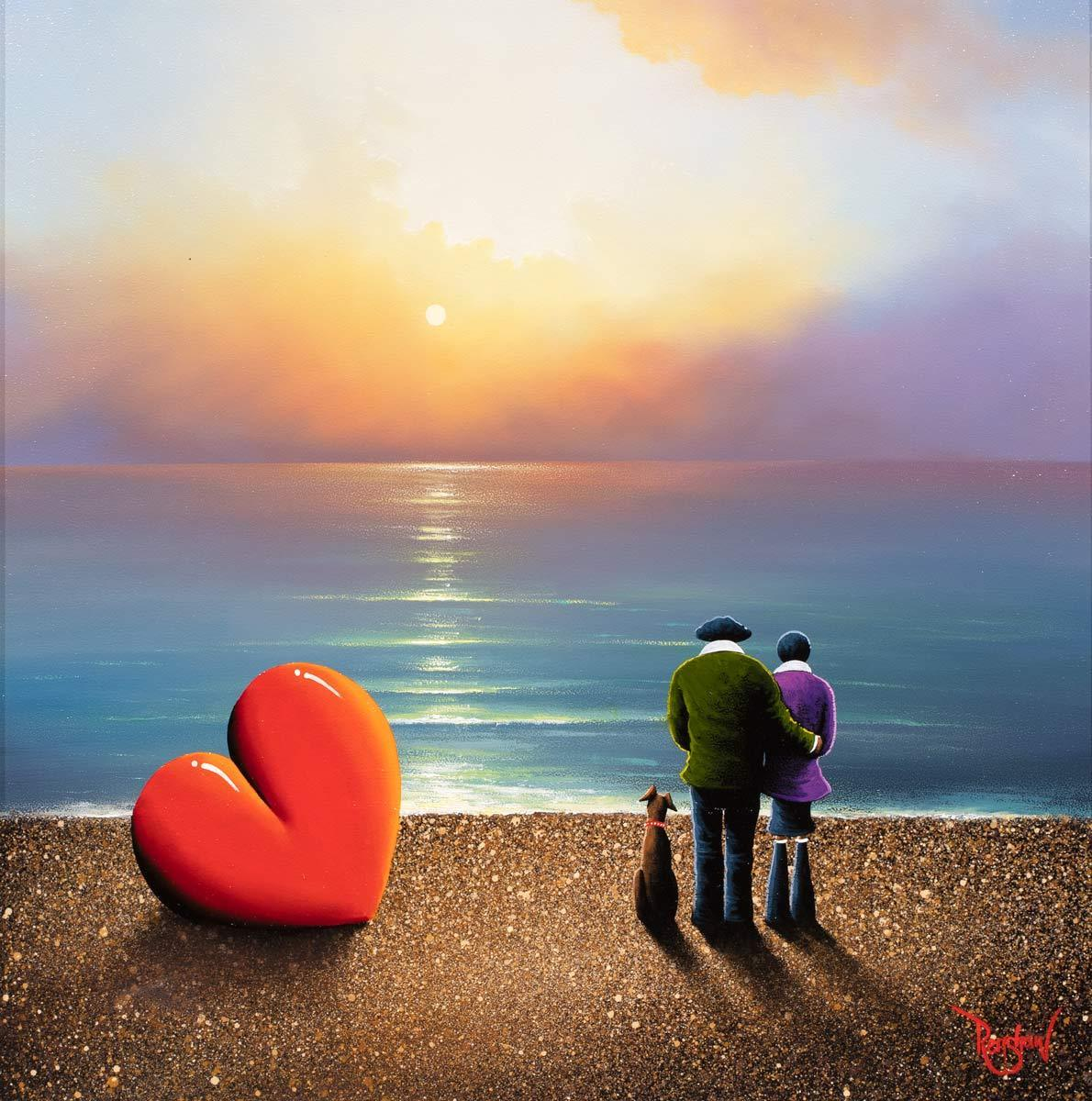 Copy of Love is in the Air - Original David Renshaw Framed