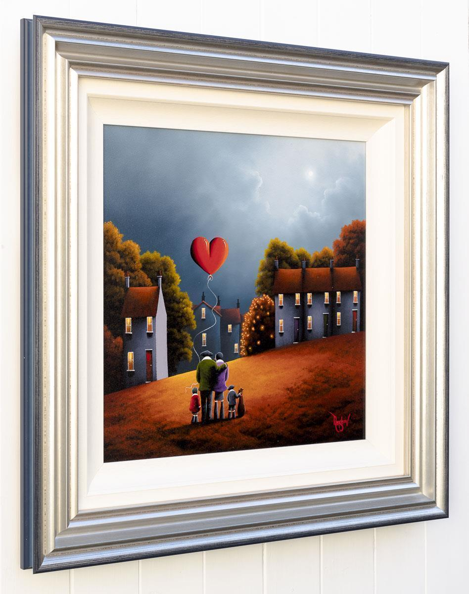 Cosy Autumn Nights - Original David Renshaw Framed