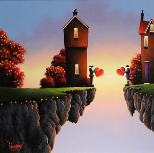 Crossing the Distance - SOLD David Renshaw
