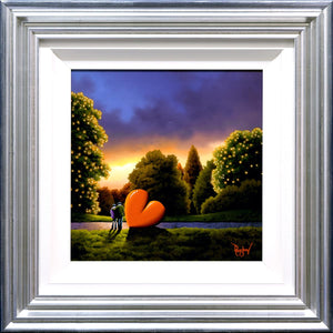 Darker Days are Over - Original David Renshaw Framed