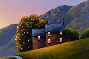Driving Down Memory Lane David Renshaw Framed