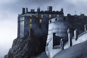 Edinburgh Castle Fly By - Original - SOLD