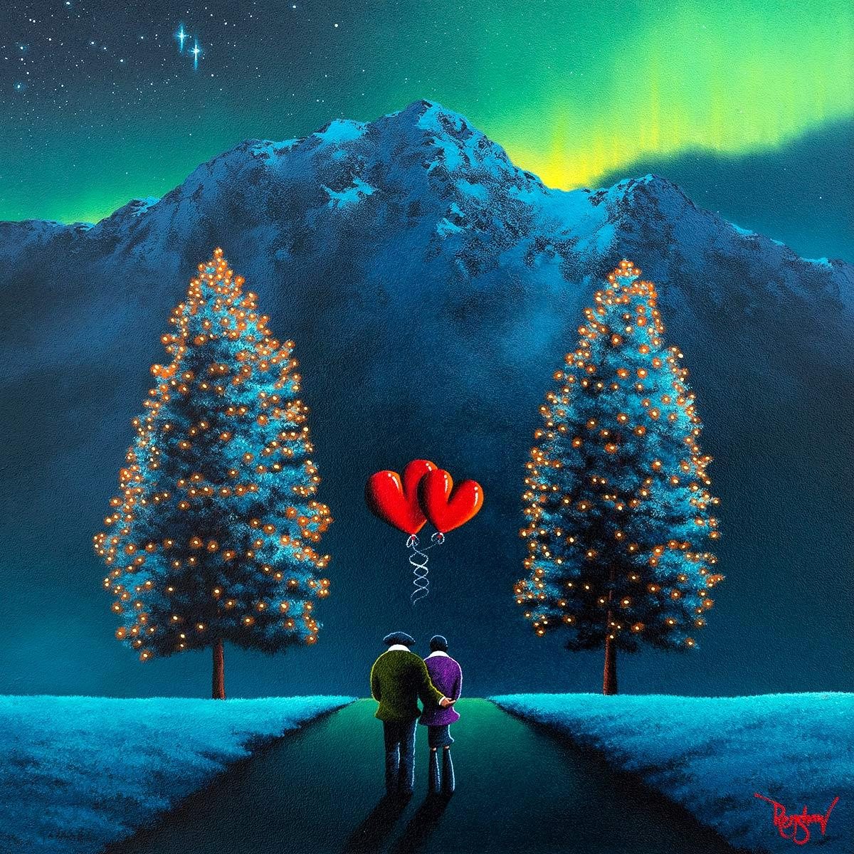 Entwined Lovers David Renshaw Framed