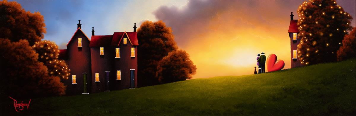 Evening Dreamers - Original David Renshaw Framed