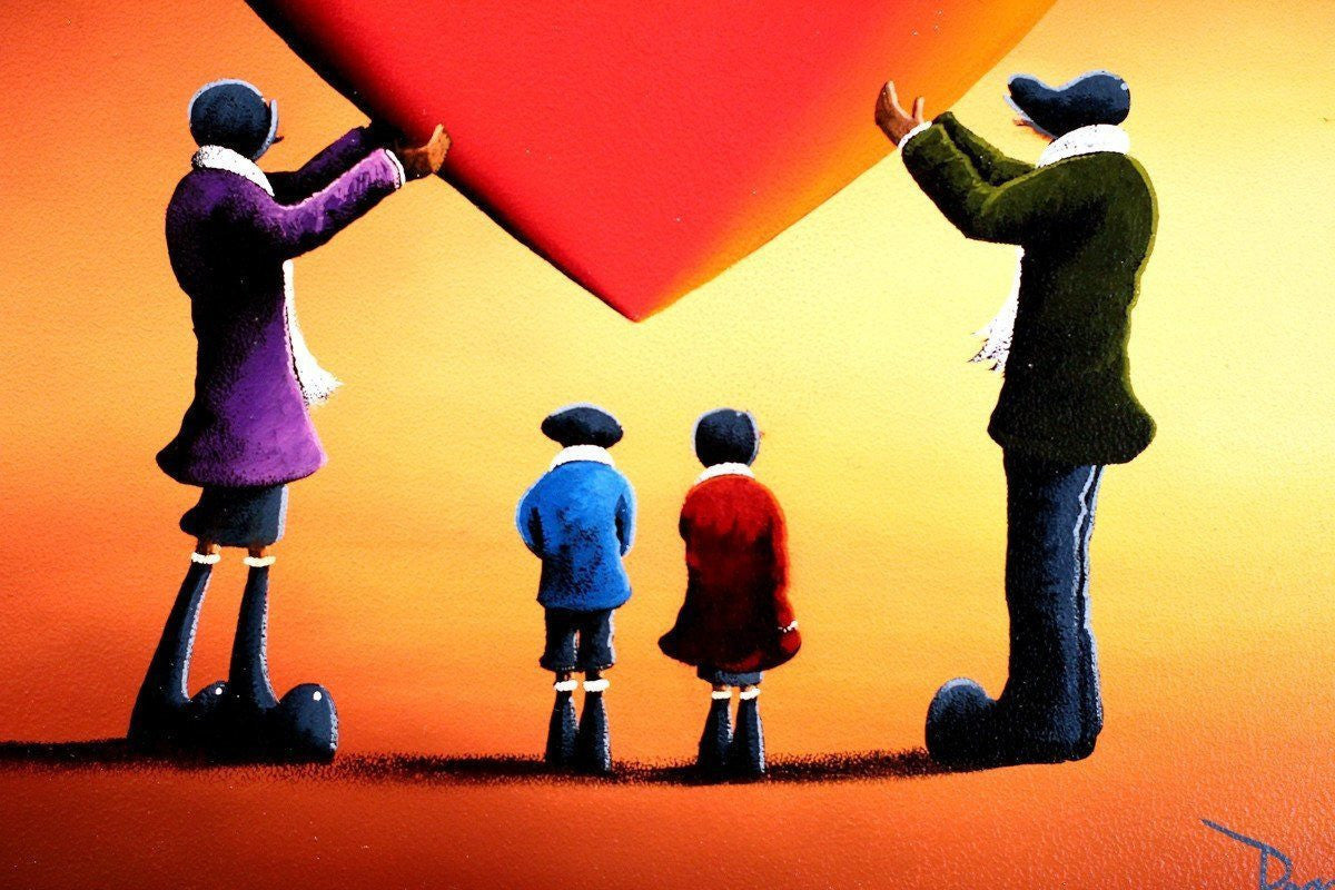 Family Portrait - SOLD David Renshaw