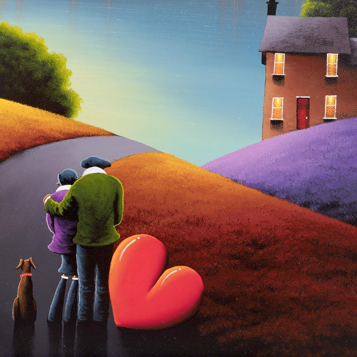 Feels Like Home - Original David Renshaw Framed