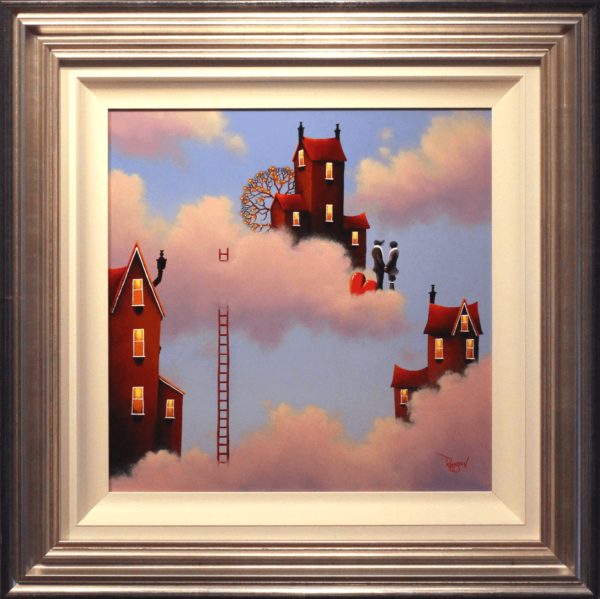 Floating on Cloud 9 - SOLD David Renshaw