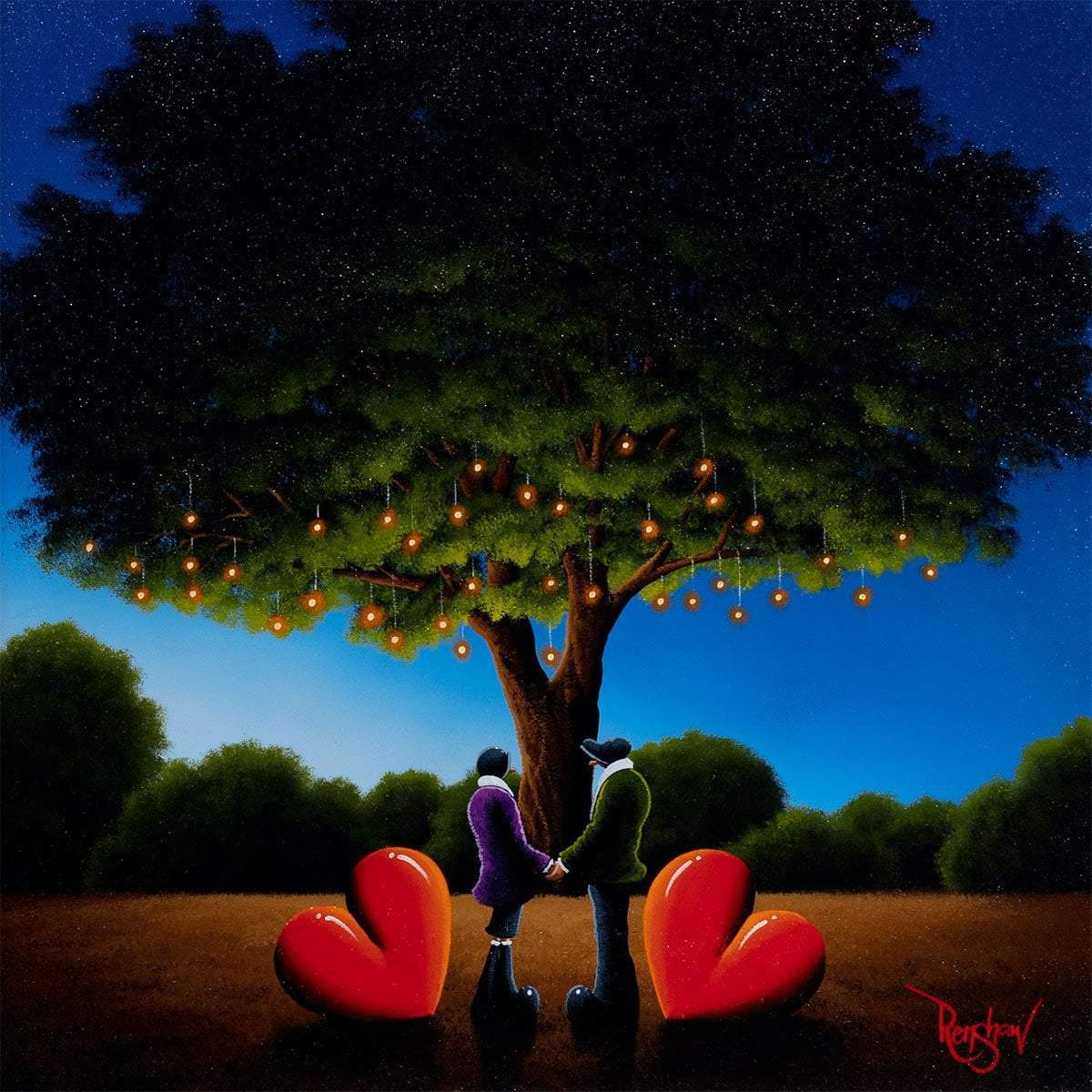 Forever Yours - Original David Renshaw Framed