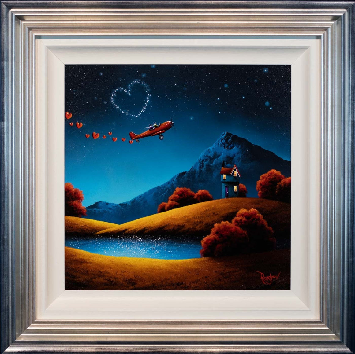 Head Over Heels - SOLD David Renshaw