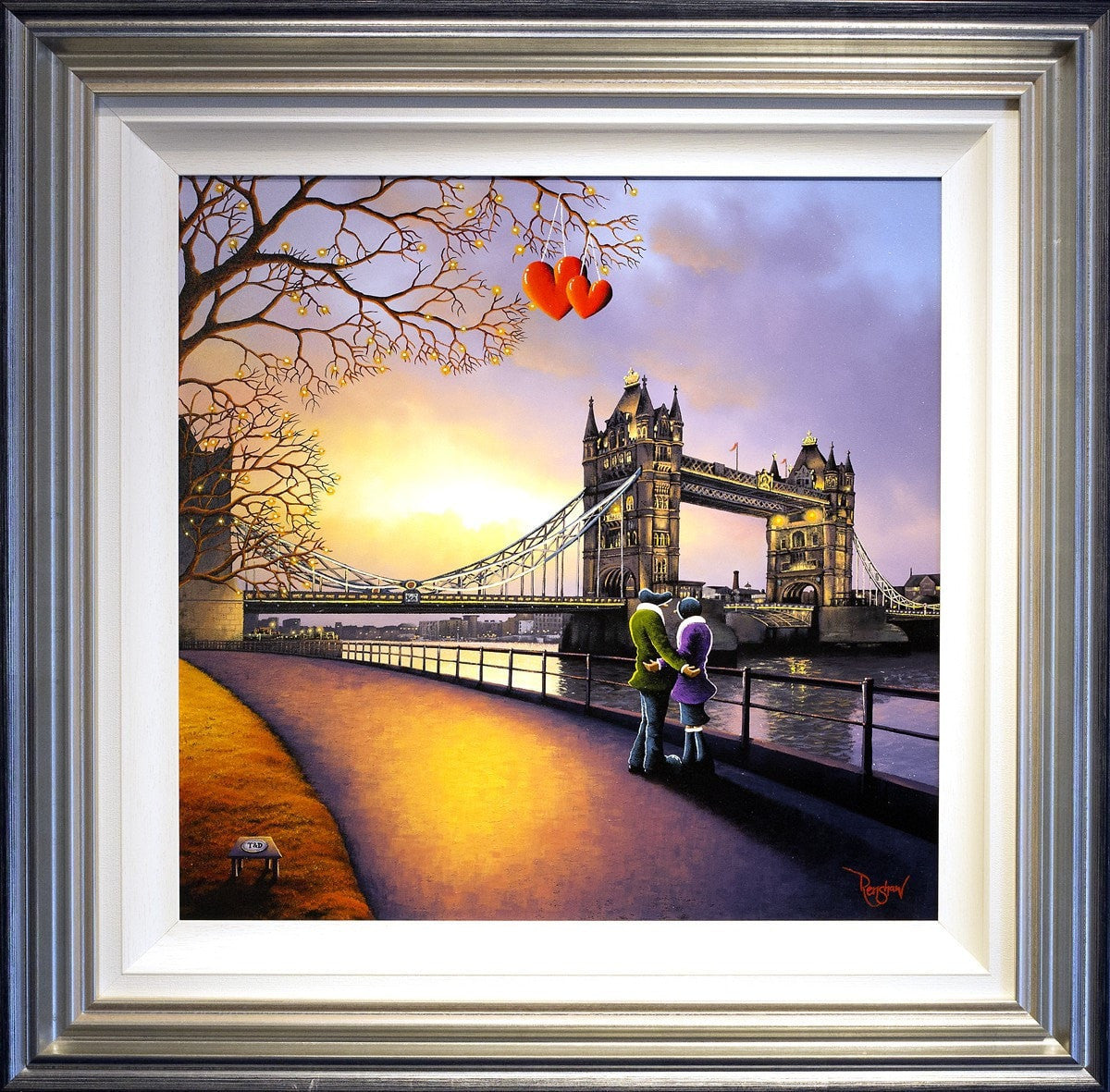 Heart of London - ORIGINAL - SOLD David Renshaw