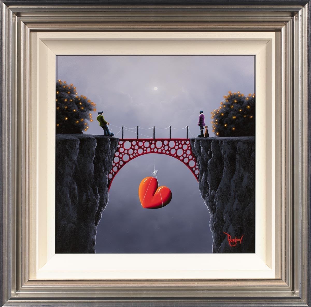 Heart Strings David Renshaw Framed