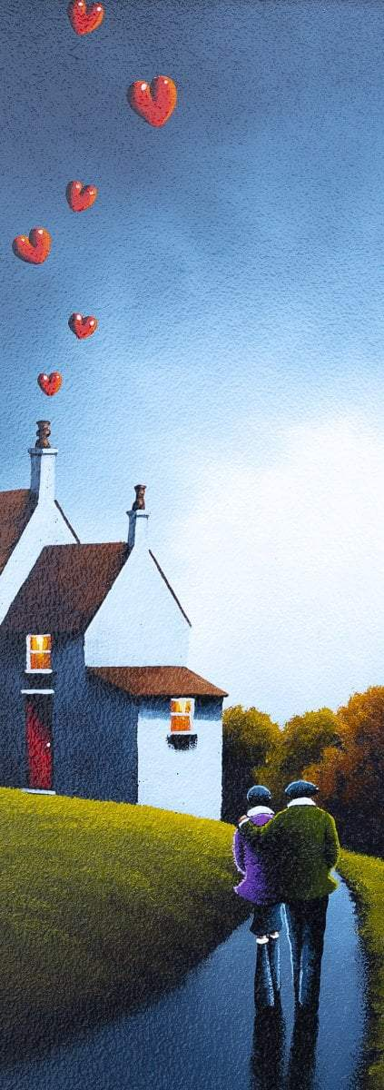 Hearth Full of Love - Original David Renshaw Framed