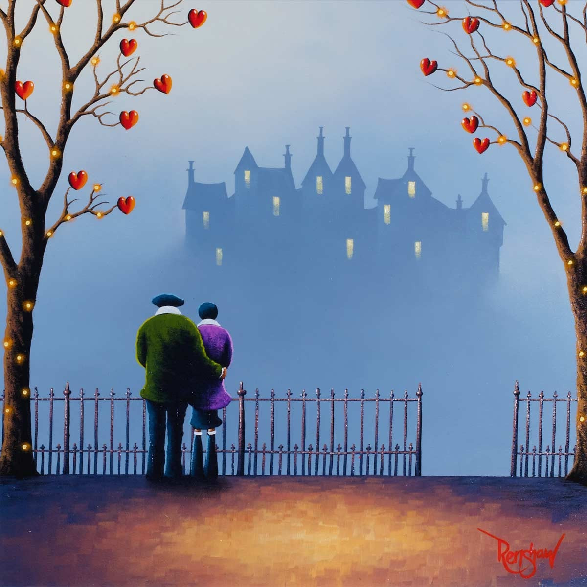 Hold Me Close - SOLD David Renshaw