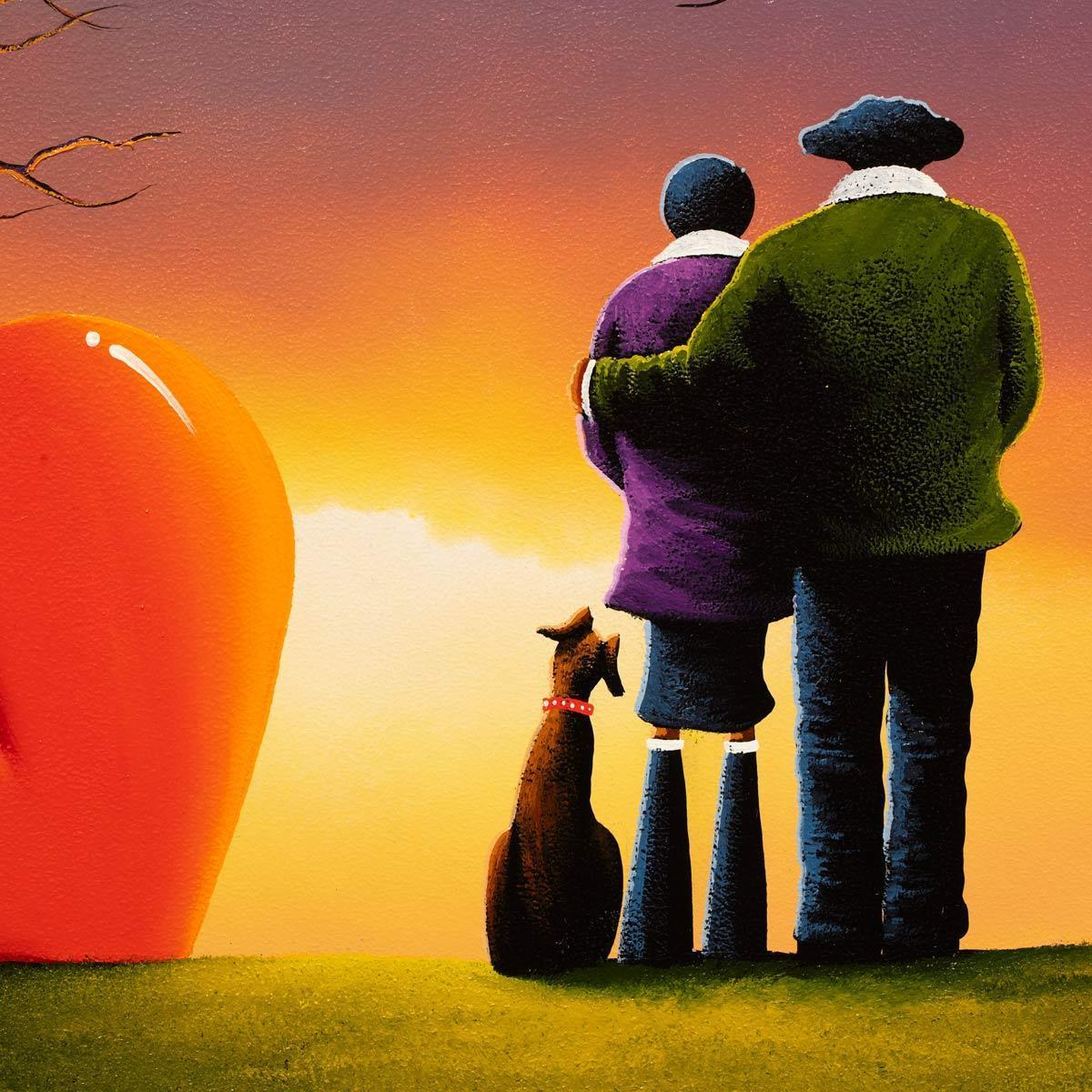 Hold Me Close To You - Original David Renshaw Framed