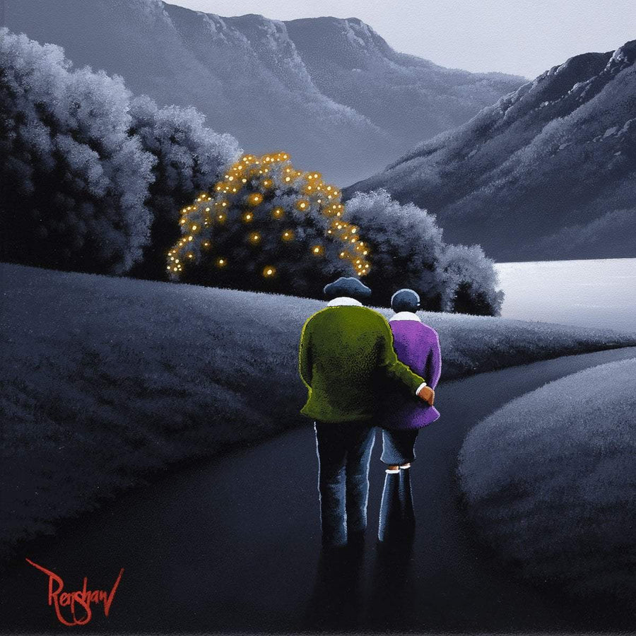 Home Comfort - Original David Renshaw Framed