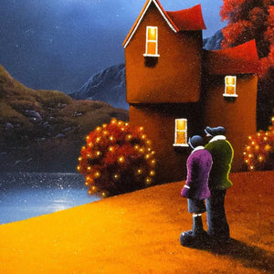 Home Fire's Burning - SOLD David Renshaw