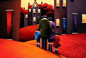 Home Is Where The Heart Is - SOLD David Renshaw