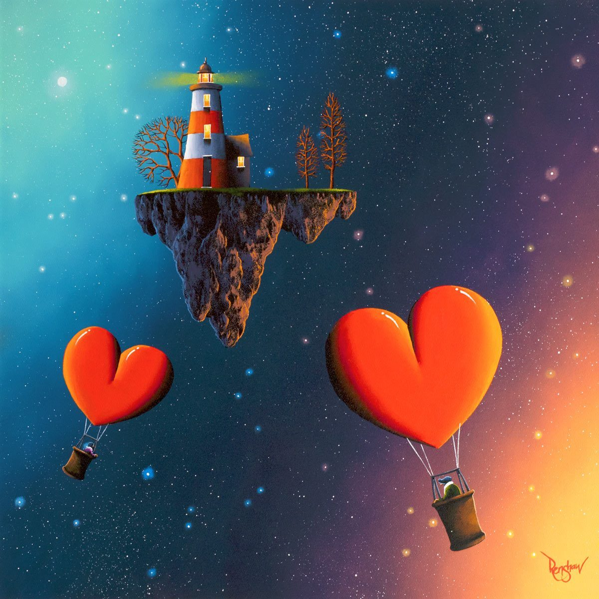 Home's Calling - Original David Renshaw