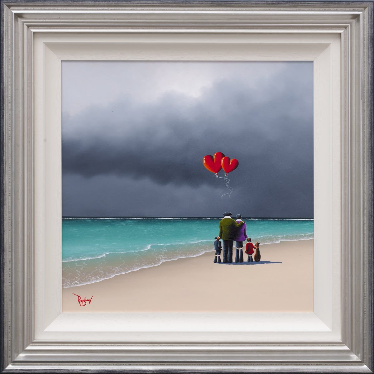 In Paradise David Renshaw Framed