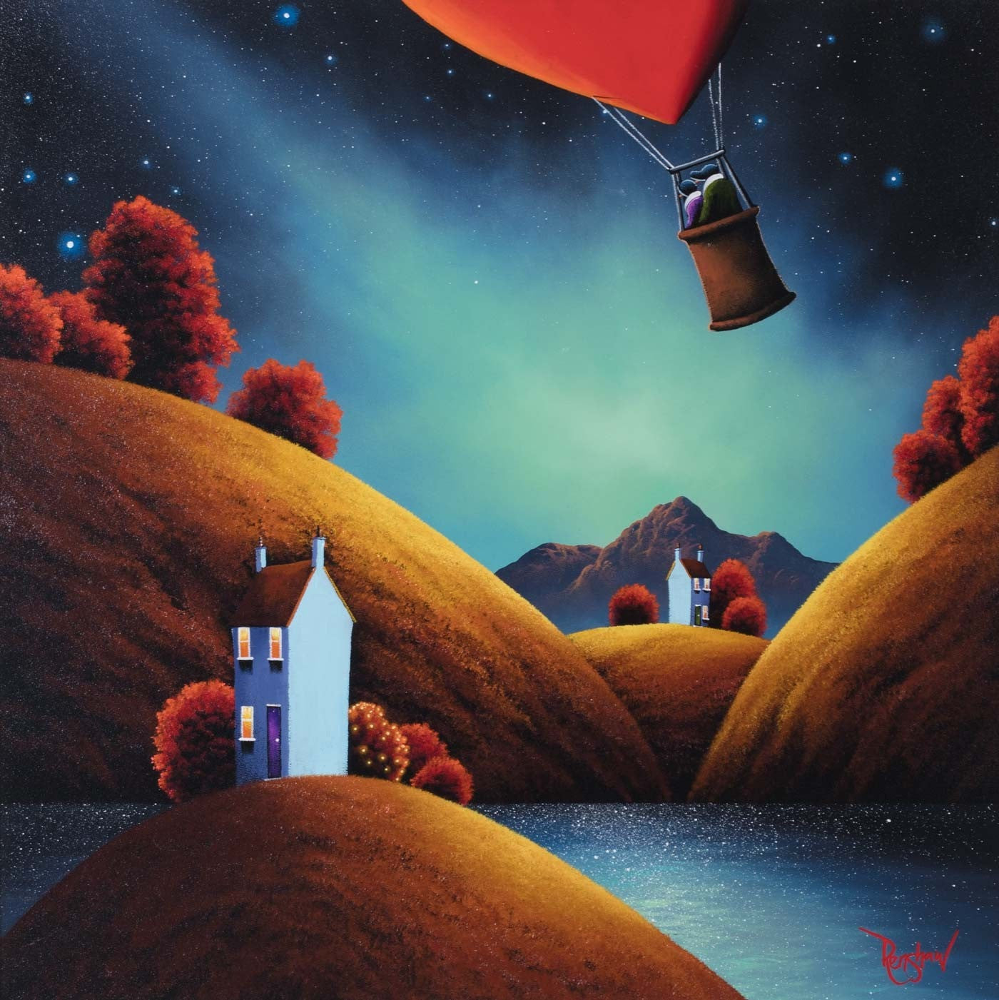 Journey to the Stars - SOLD David Renshaw