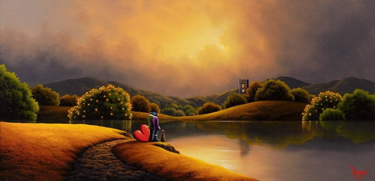Just The Three Of Us - SOLD David Renshaw