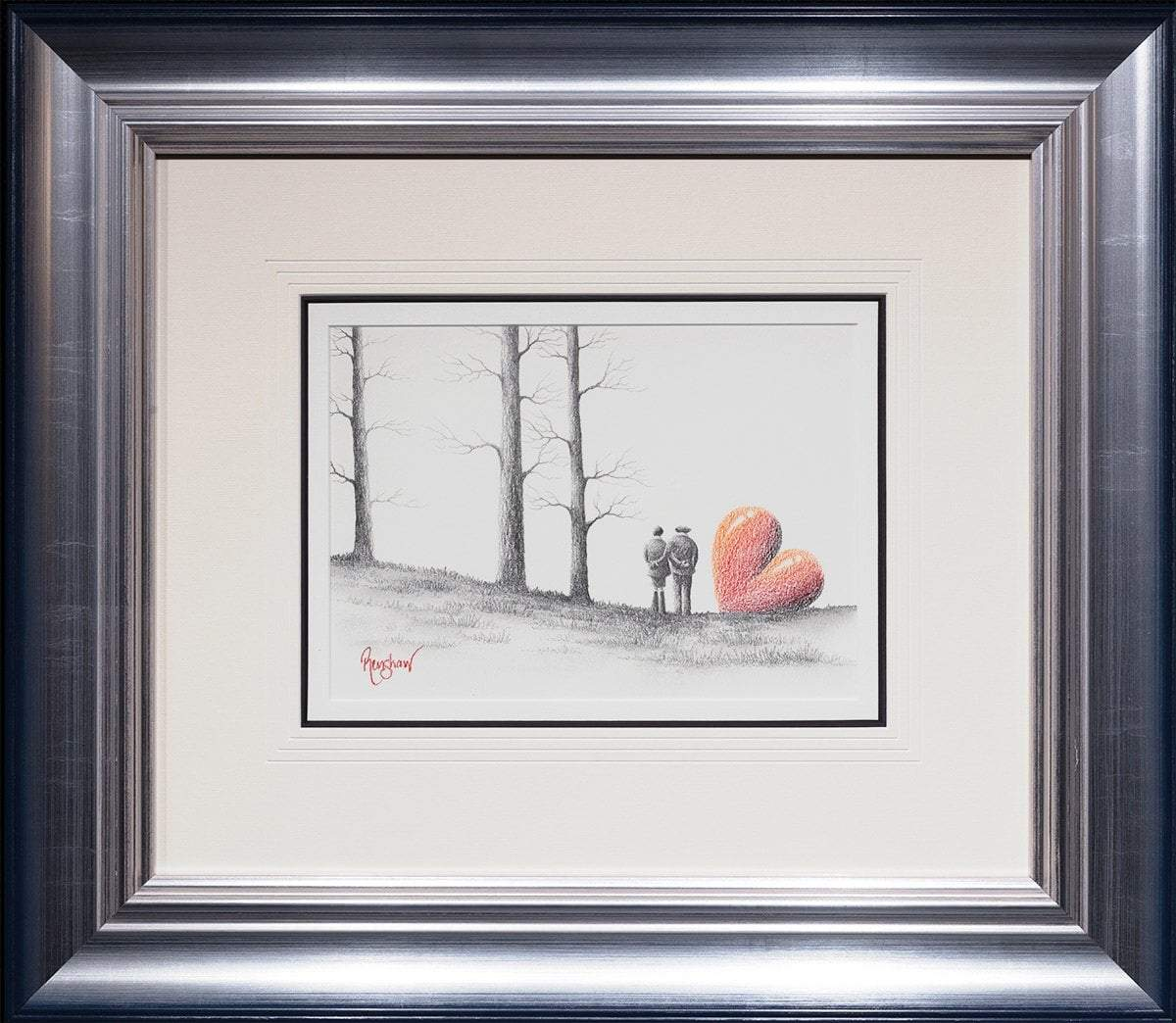 Just the Two of Us - Original Sketch David Renshaw Original