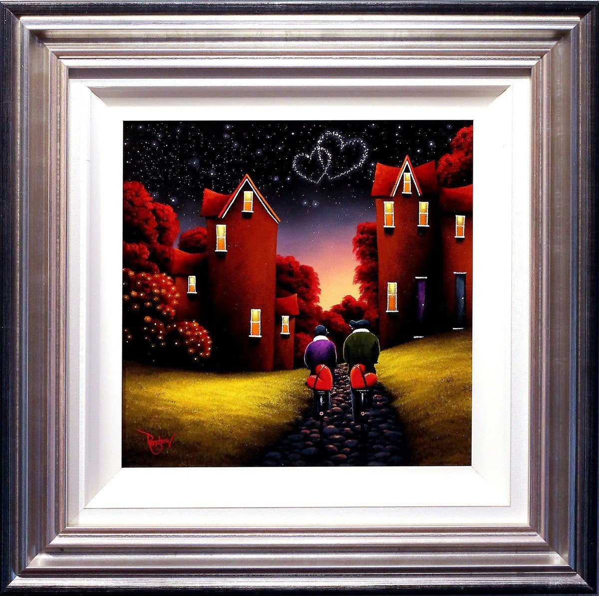 Late Night Ride - SOLD David Renshaw